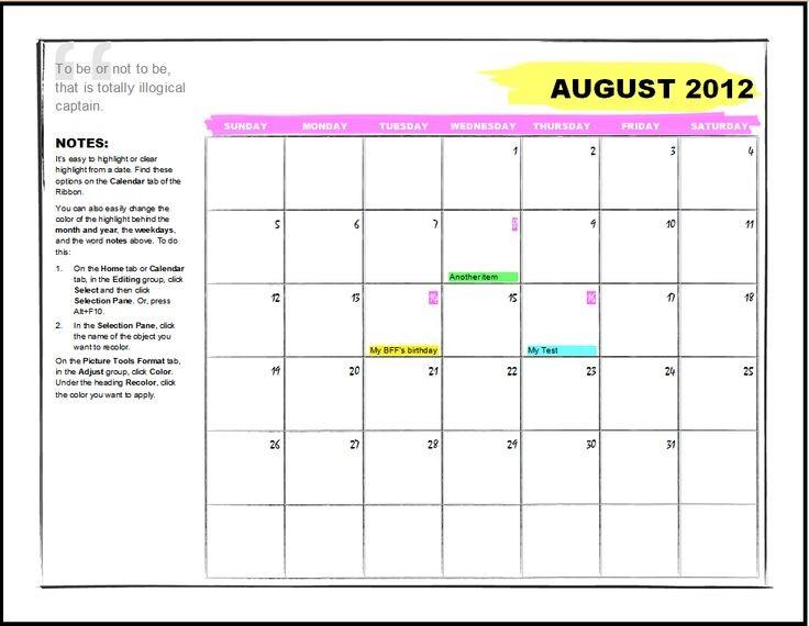 Microsoft Office Calendar Templates Best 25 Fice Calendar Ideas On Pinterest