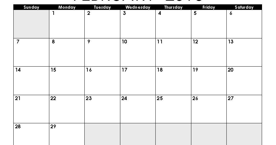 Get Printable Calendar 2016 Mini Month Calendar