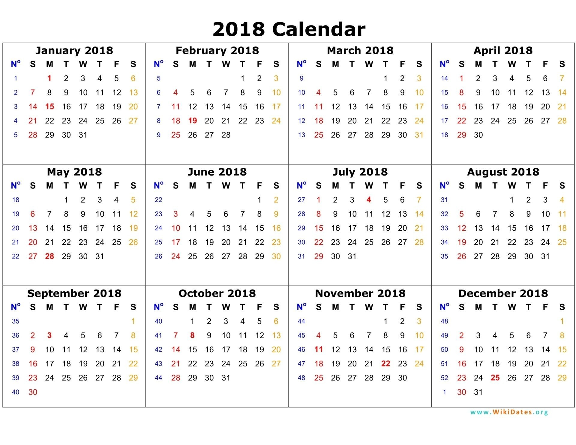 Where Can I Buy Mini Calendar Pages 2018 Printed for Free