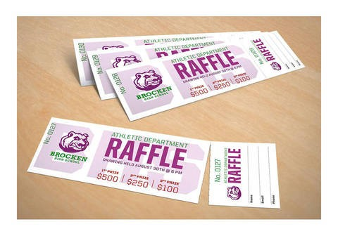 Avery Printable Tickets 1 34 x 5 12 White Pack 200 by