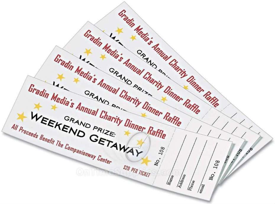 fice Depot Raffle Ticket Sheets