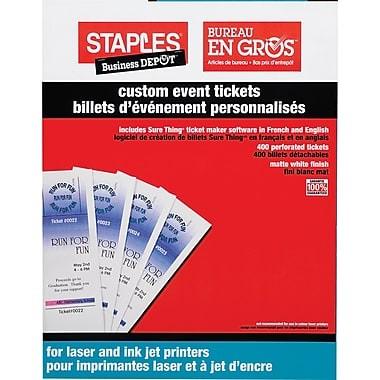 Office Depot Ticket Template Fice Depot Templates Staples Custom event Tickets