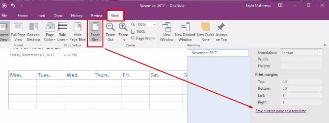 Onenote Calendar Template How to Create A Enote Calendar Template
