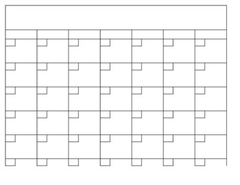 Plain Calendar Printable Blank Calendar Dr Odd