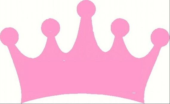 DIY Princess Prince Crown Applique Template
