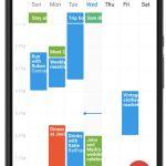 Printable Calendar App Weekly Calendar 2018