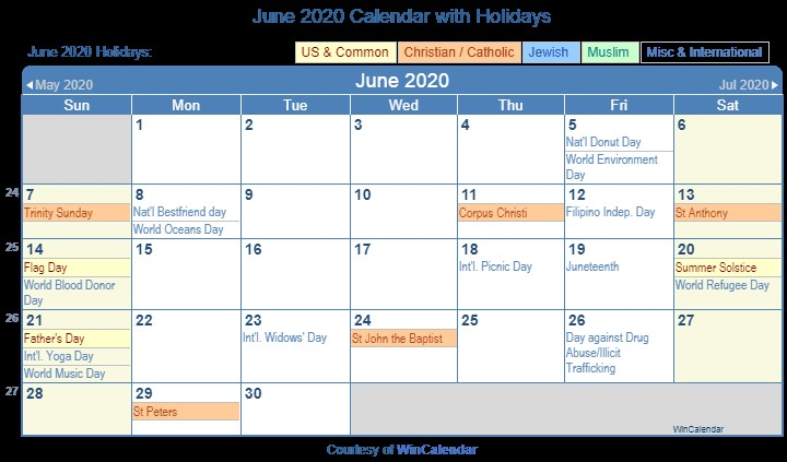 Printable Calendar May and June 2020 Print Friendly June 2020 Us Calendar for Printing
