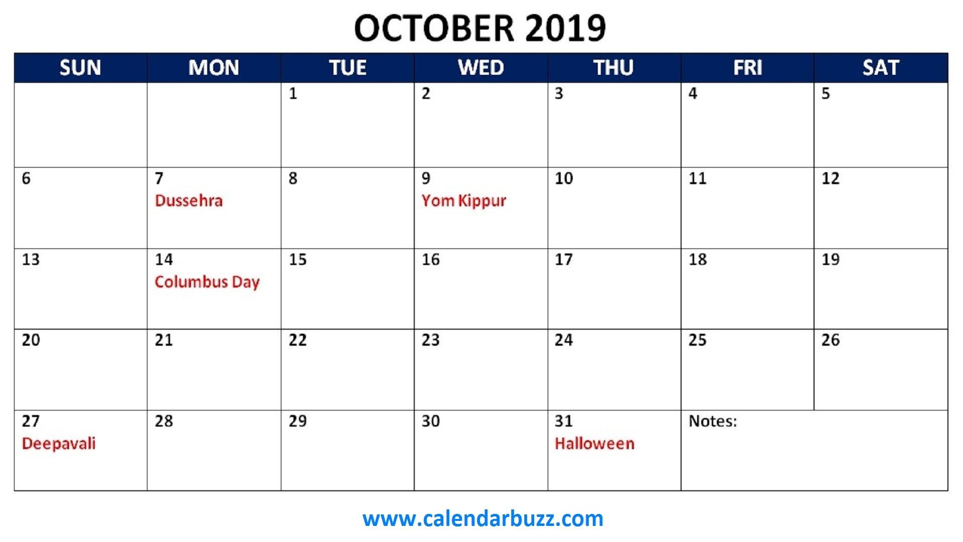 Printable Calendars with Holidays Free 2019 Holidays Printable Calendar Monthly Templates