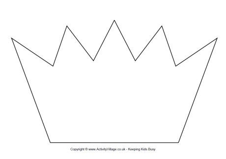 Crown Template Printable 1