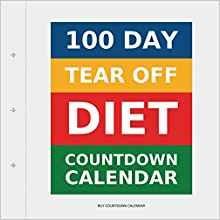 Amazon 100 Day Tear f Diet Countdown Calendar
