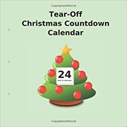 Tear f Christmas Countdown Calendar Buy Countdown