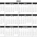 Small Printable 2019 Calendar 2019 Calendar Printable Templates Word Excel Wallpapers