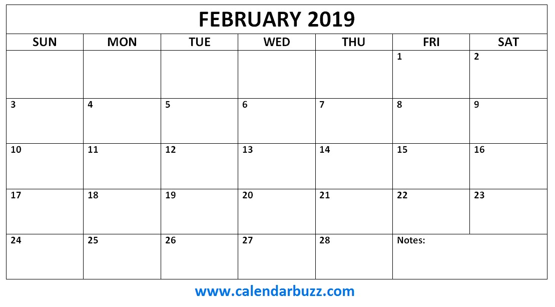 2019 Monthly Calendar Printable Free Free 2019 Printable Calendar Monthly Templates
