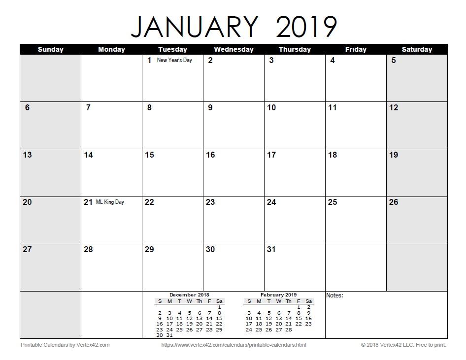 2019 Printable Calendar by Month Free Printable Calendar Printable Monthly Calendars