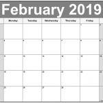 Free Printable February Calendar February 2019 Calendar