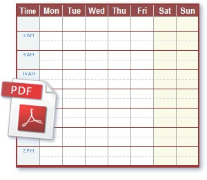 Free Printable Work Schedule Calendar Schedule Pdf Files Ideal for Printing