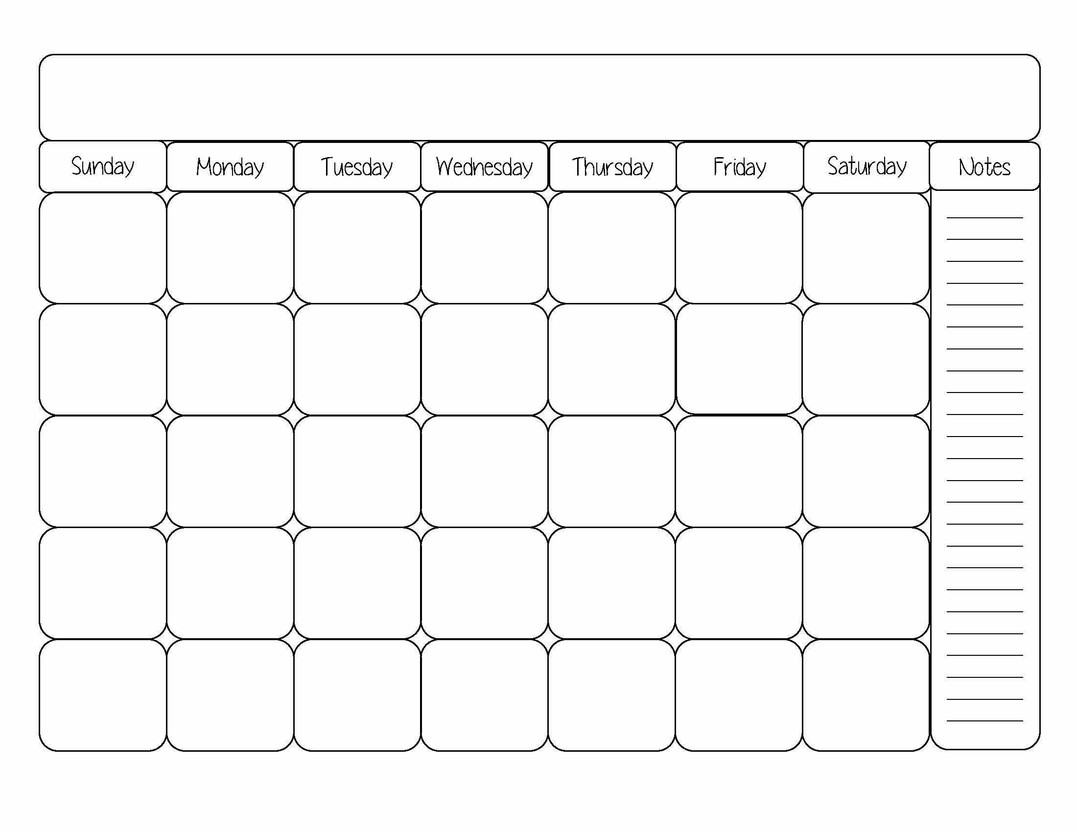 Printable Blank Calendar Printable Calendar Dr Odd