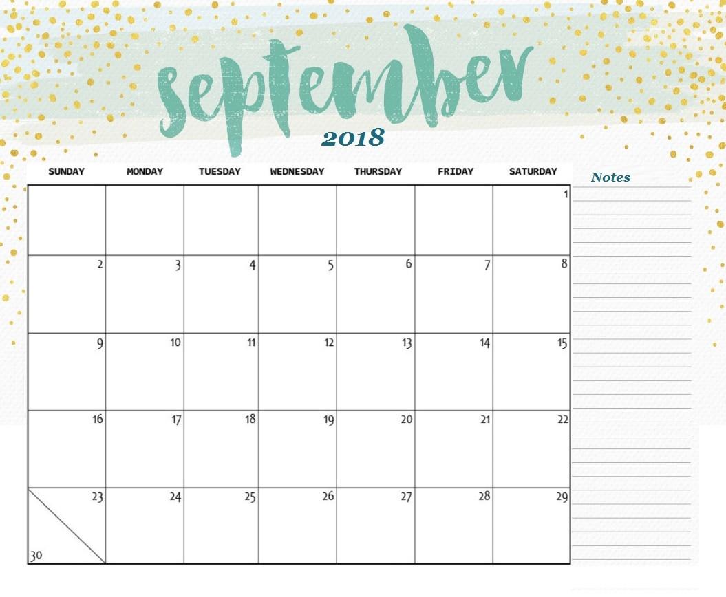 Free Printable 2018 Desk Calendar