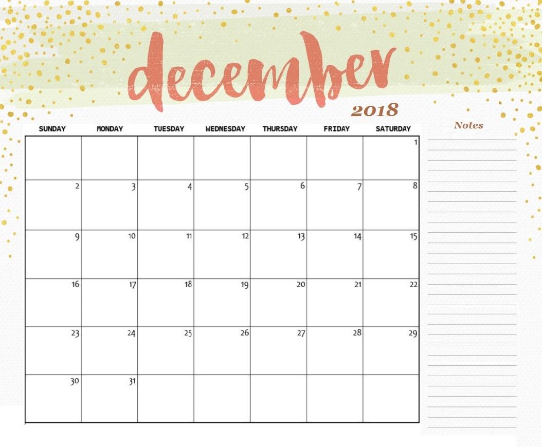 Printable Desk Calendar Free Printable 2018 Desk Calendar