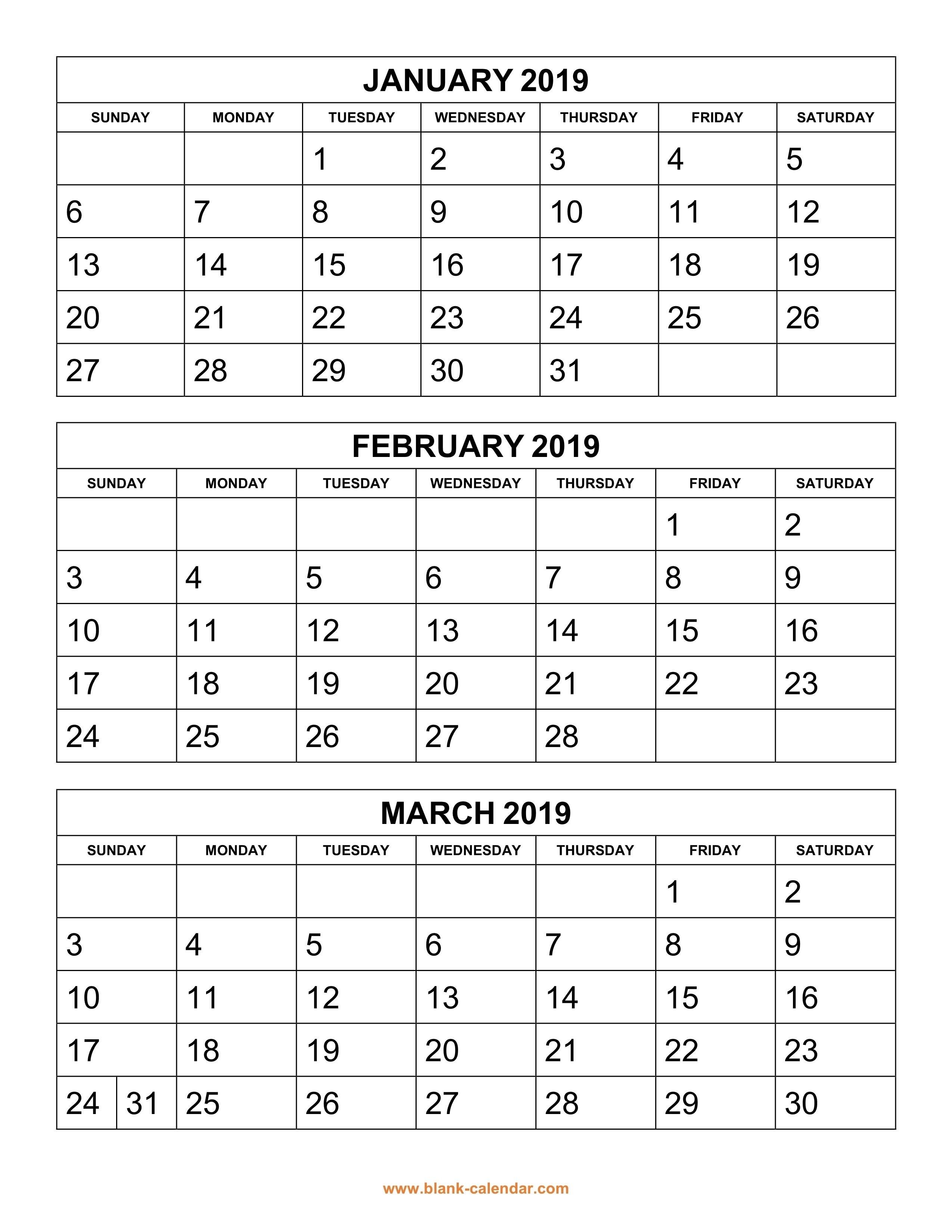 4 Month Printable Calendar 4 Month Blank Calendar