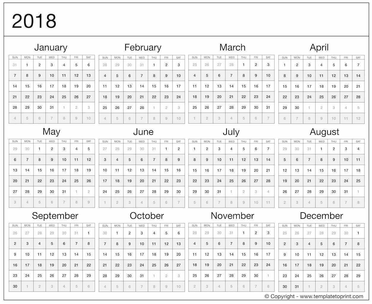 2020 Julian Calendar Printable Pdf