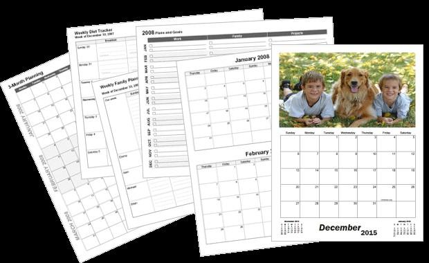 Make Your Own Printable Calendar with Photos