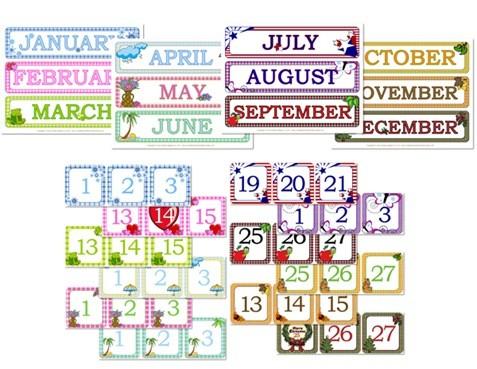 Printable Calendar Days
