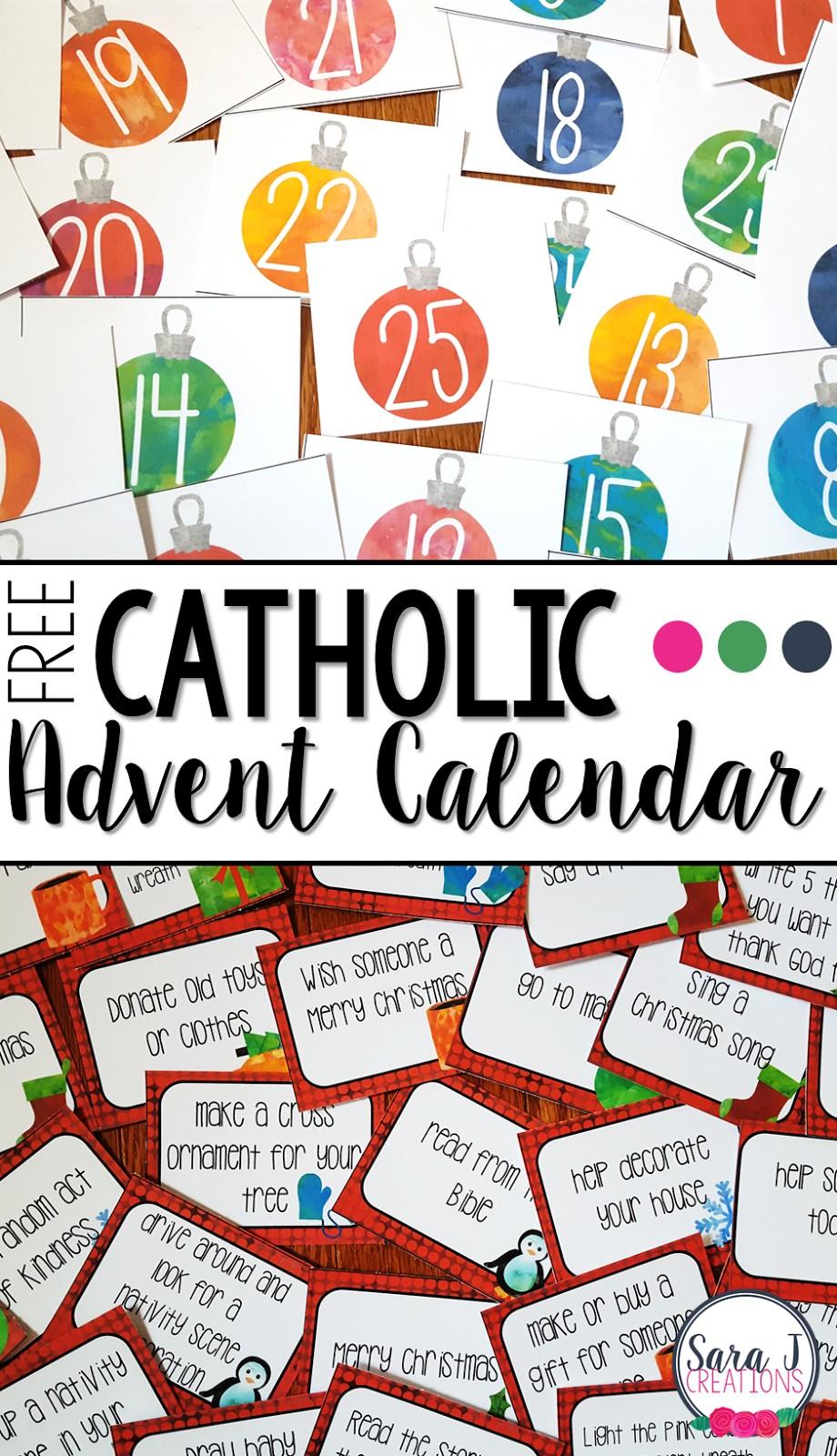 Free Catholic Advent Calendar