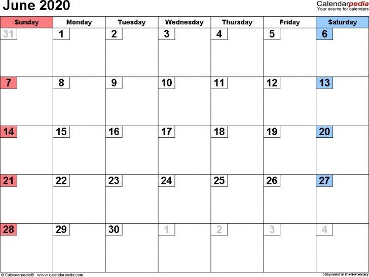 Printable Calendar 2020 16 Free Printable Calendar Monthly