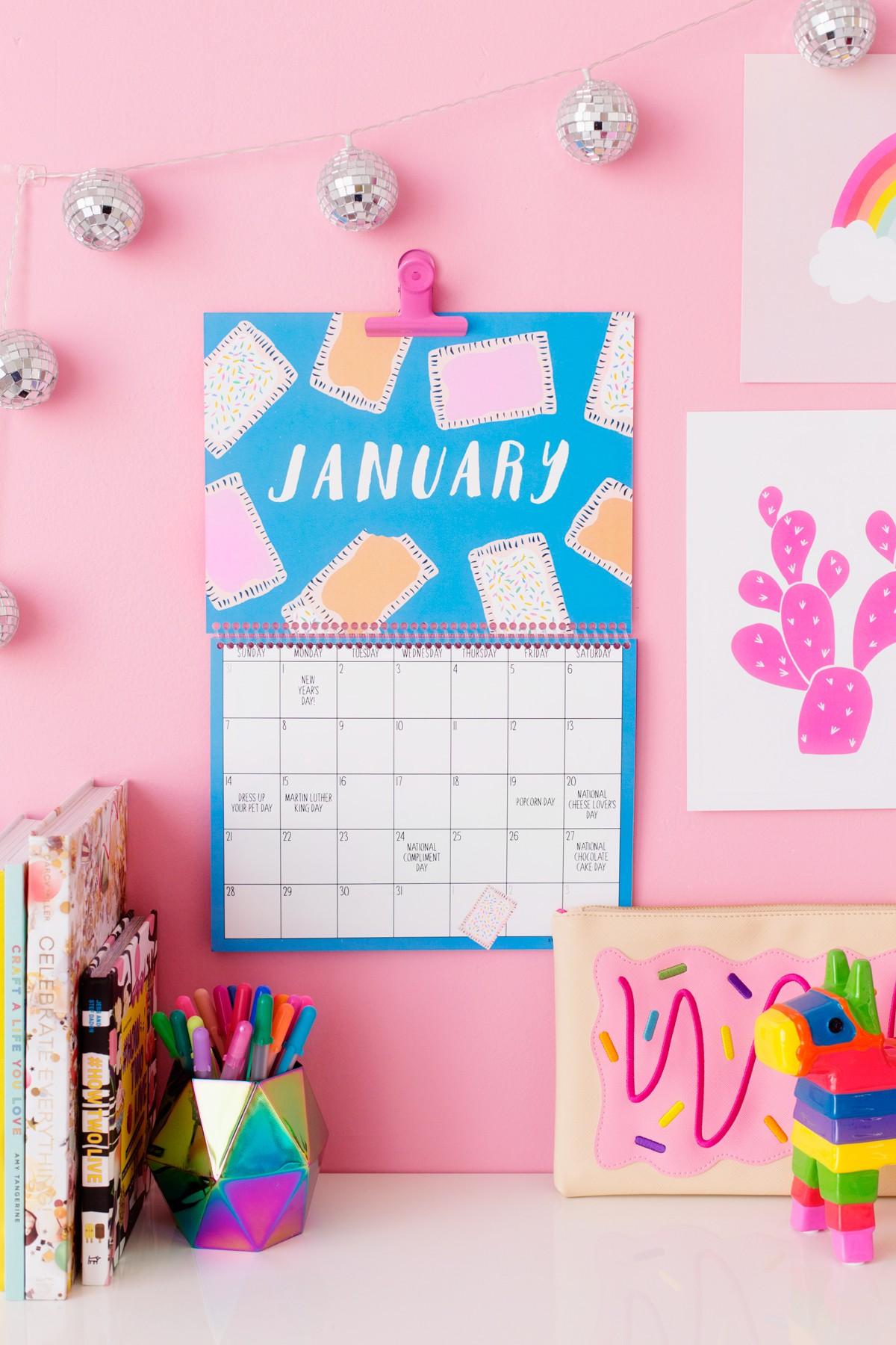 Printable Wall Calendars 2018 Free Printable Wall Calendar Studio Diy
