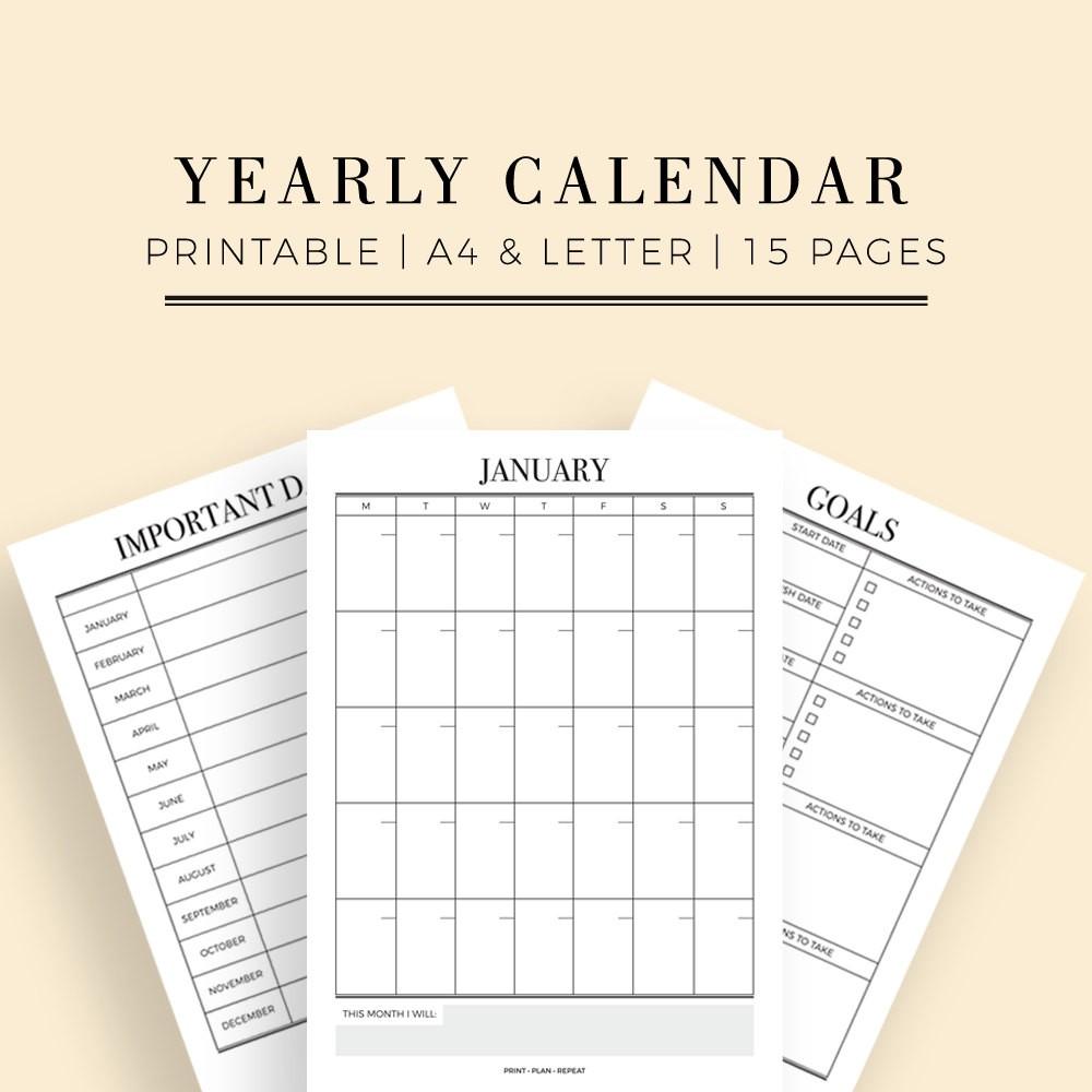 Printable Wall Calendars Wall Calendar Printable Blank Printable Calendar Stylish