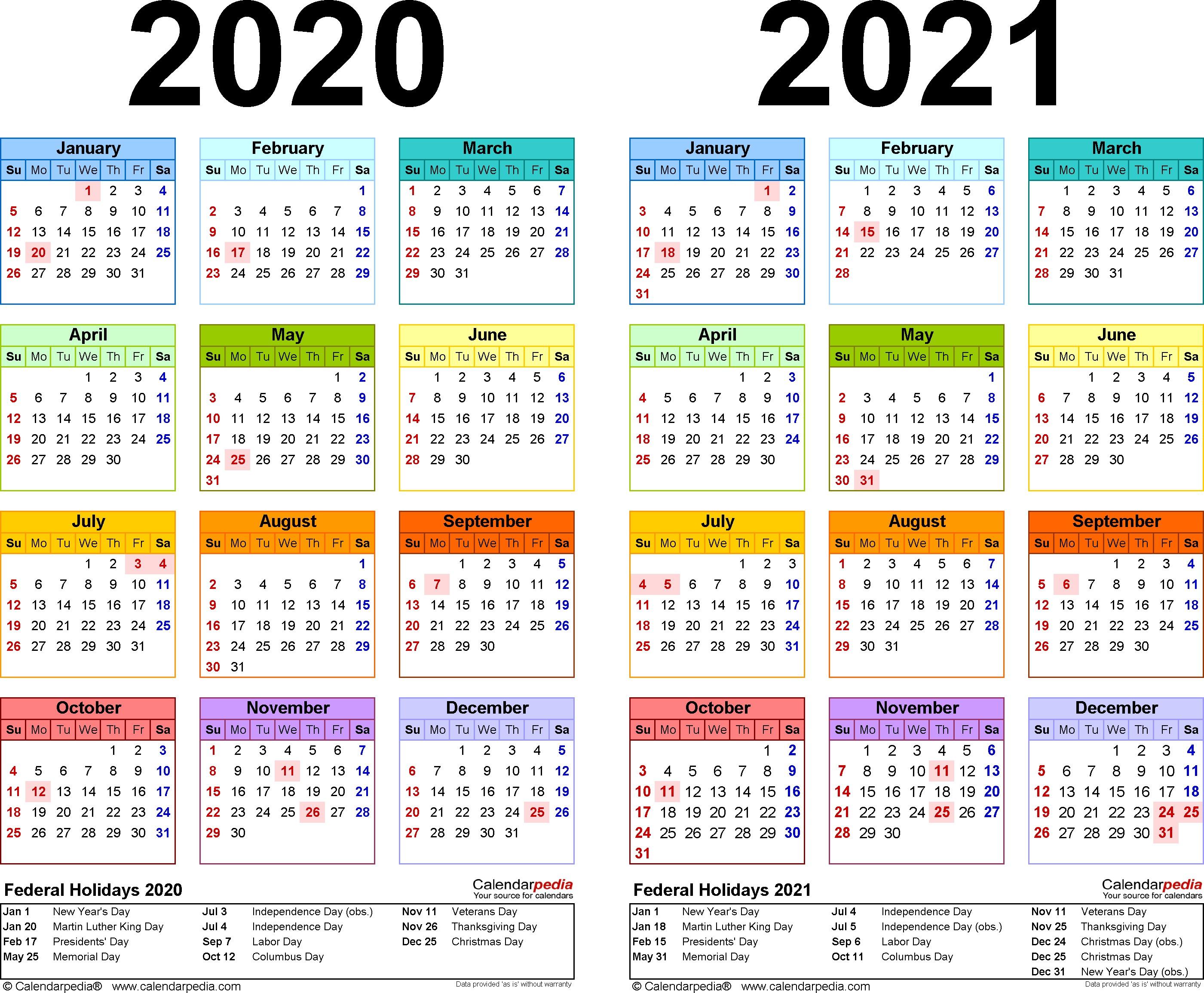 2020-21 Calendar Printable   Get Free Printable Calendar ...
