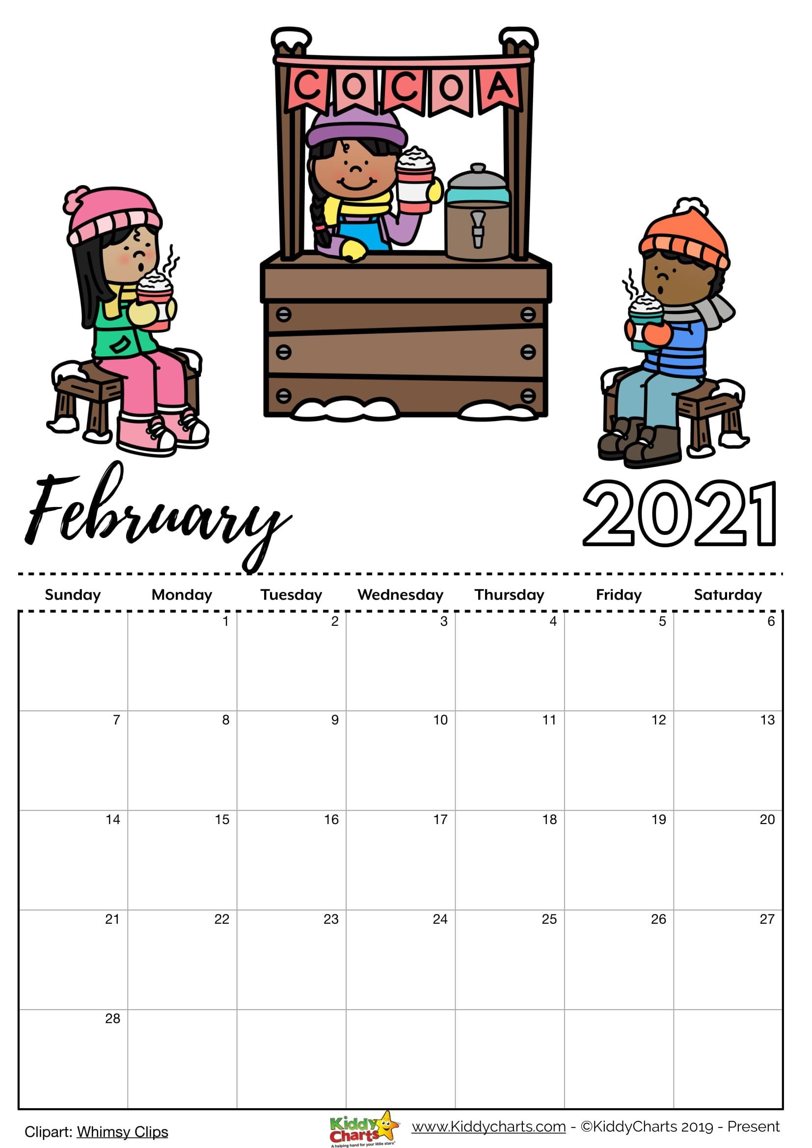 Check our new free printable 2021 calendar