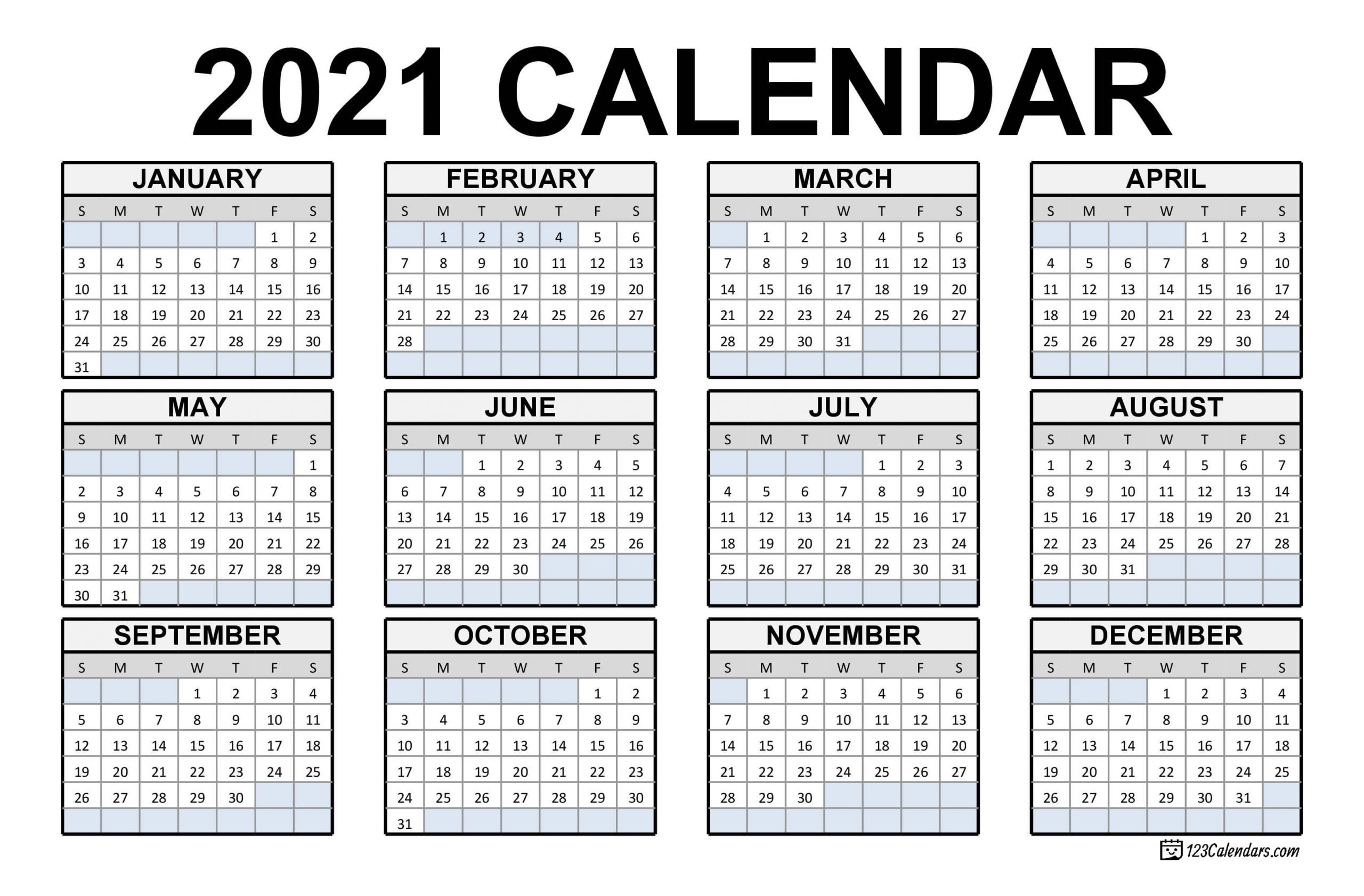 Print Philippine 2021 Calendars With Holiday