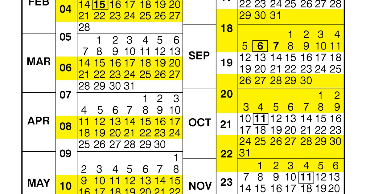 2021 Federal Pay Period Calendar Opm
