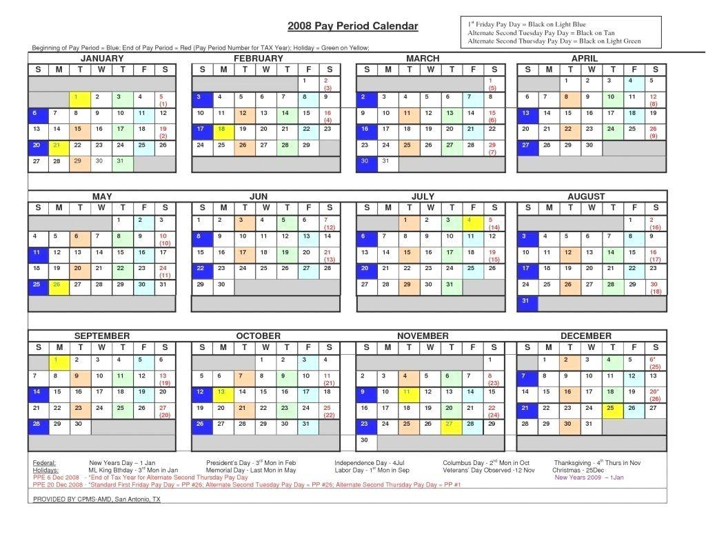 Federal Pay Period Calendar 2020 Dod