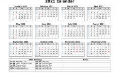 Printable 2021 Calendar with Federal Holidays Free Download Printable Calendar 2021 with Us Federal
