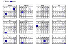 Usps Pay Period Calendar 2021 Paydays